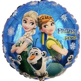 Frozen Round Foil Balloon