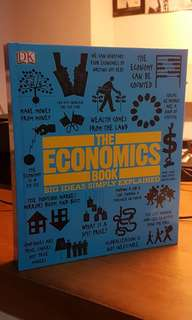The Economics book: Big Ideas simply explained (hardcover)