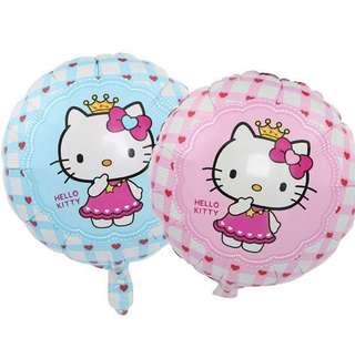 Hello Kitty Round Helium Balloon