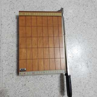 vintage Made in Japan MIKI A4 paper cutter
