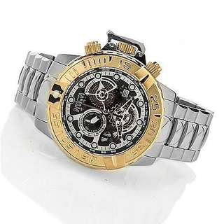 Invicta Reserve 47mm Subaqua Noma II Quartz Chronograph Stainless Steel Bracelet Watch