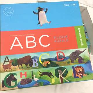 Crocodile Creek ABC Floor Puzzle