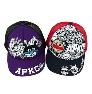 新款刺繡面包超人Cap帽