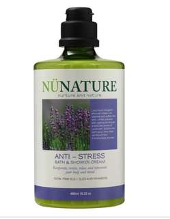 The Nunature Anti-Stress Bath & Shower Cream