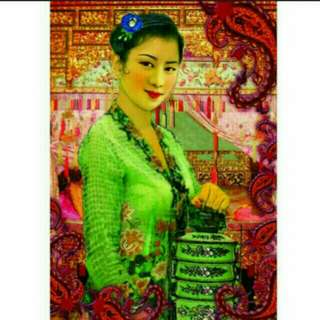 A1 size jumbo size  594 x 841 mm  Nyonya Ladies al