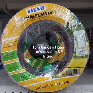 TITAN Garden Hose Reel Set on Promotion @ FairPrice Xtra Outlets