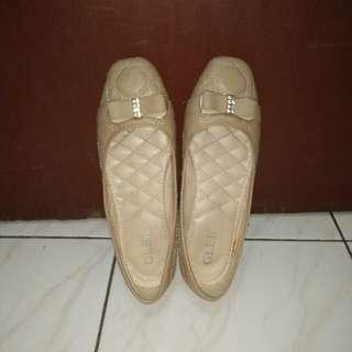 Basic Flatshoes Cream