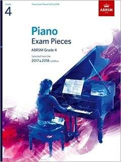 ABRSM PIANO GRADE 4