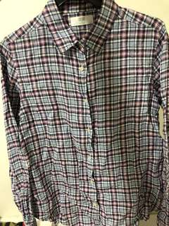 Uniqlo Flannel Shirt [wardrobe clearance]