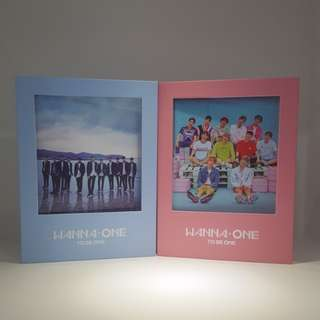 Wanna One To Be One Unsealed Albums