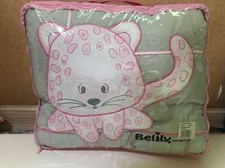 Baby Comforter and Bolster Pillows