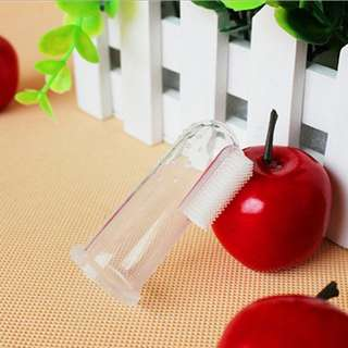 Silicone Finger Toothbrush Baby