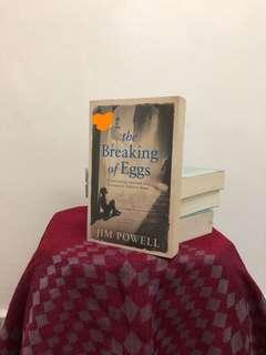 The breaking of egg