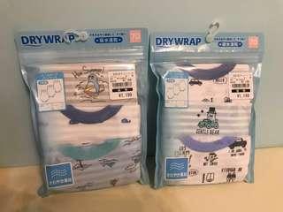(現貨) 日本🇯🇵西松屋 快乾包屁衫 Dry Wrap