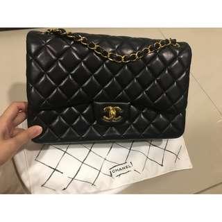 Chanel Black Jumbo nego