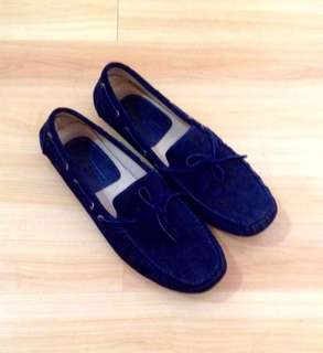 Authentic Hackett Blue Driving Shoes