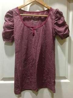 Fuschia blouse