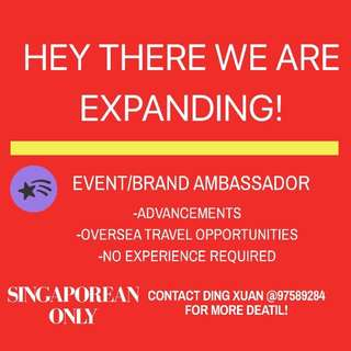 Event rep/ Ambassador