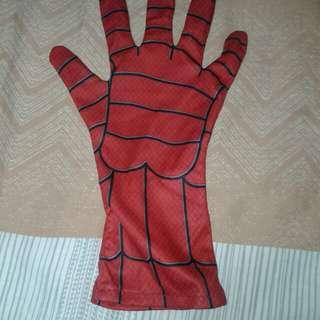 Spiderman glove right hand