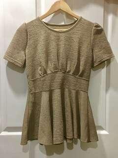 Light brown blouse