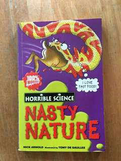 Horrible Science Nasty Nature