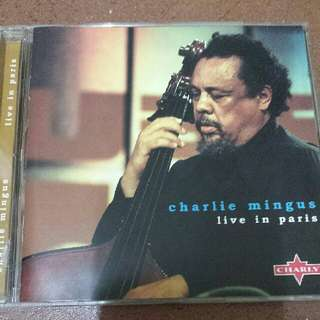 Music CD: Charles Mingus–Live In Paris