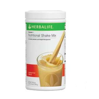 "Herbalife Formula 1 Shake ""Tropical Fruit"""