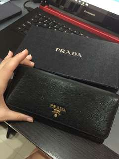 [Authentic] Prada Continental Wallet (RP: RM2500+)