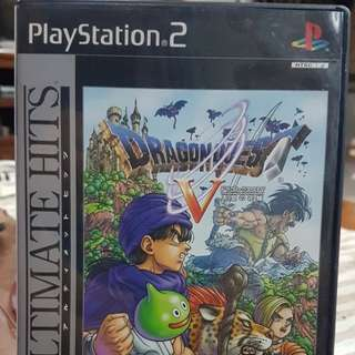 DragonQuest V PS2 Ultimate Hits