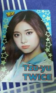夜光 < Tzu-Yu> (Twice) Yes Card !