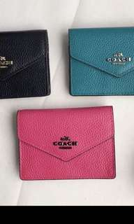Original coach women wallet purse pouch coin bag