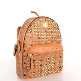 MCM Diamond Visetos Backpack Medium