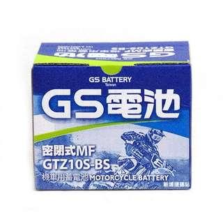 🚚 GTZ10S-BS=TTZ10S統力GS 10號機車電池電瓶可自取