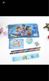 $1.6-$2 Paw Patrol stationery