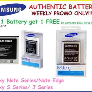 Authentic Samsung Note♡S♡J 5/4/3/2 batteries