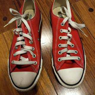 Converse Red Chucks