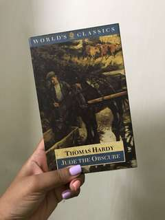 Thomas Hardy - Jude the Obscure (vintage / classic literature)