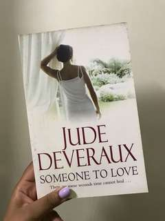 Someone to love by Jude Deveraux (romantic fiction / romance), large print edition