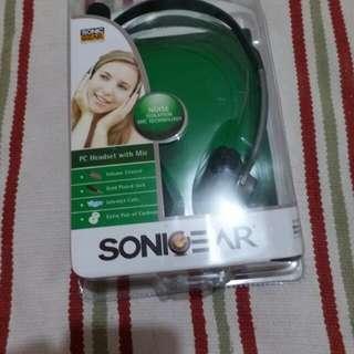Sonigear pc headset with mic