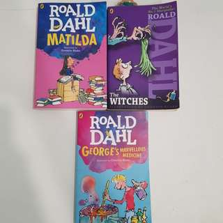 Prelöved Roald Dahl Books