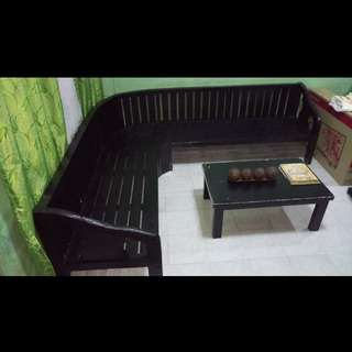 Personalized Molabe Wood Chair and Table with Freebies