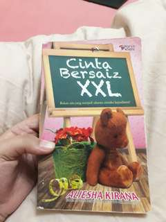 USED MALAY NOVELS - Cinta bersaiz XXL