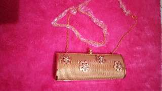 Gold Party Clutch