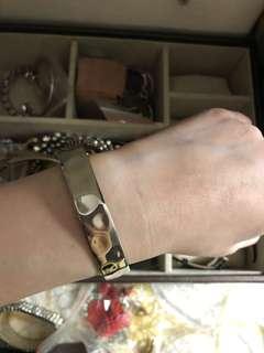 🚚 銀色手環