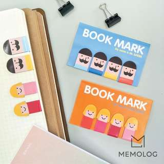 Mr Baba and Mask Bunny Magnetic Bookmark