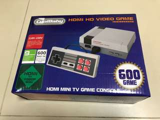 Vintage FC game console