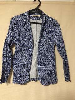 Weekender printed blazer