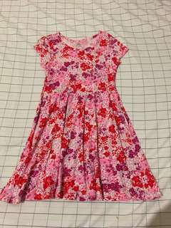 Floral dress for young girls