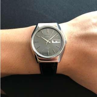 Rare Vintage Grand Seiko 5646-8000 (Grey Linen Dial)