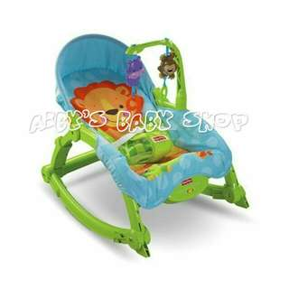 Fisher price blue rocker plastic